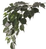 """Ficusspray """"exotica"""" met 3 vertakkingen,  61 bladeren, 77cm - brandvertragend - ACTIE"""