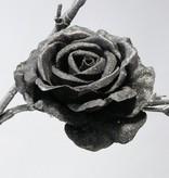 Roos gr velvet satin clip
