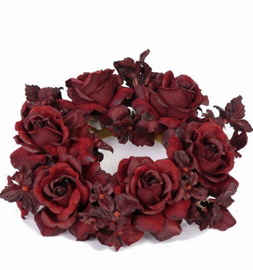 Rose/Hydrangea candlering