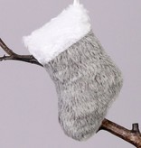 Grau-Mix: Pluesch-Weihnachtsanhaenger 6 Motive im Beutel ca. 10cm
