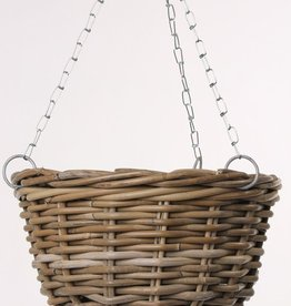 Lanak Hanging Basket with chain, Ø 30cm , H. 18cm
