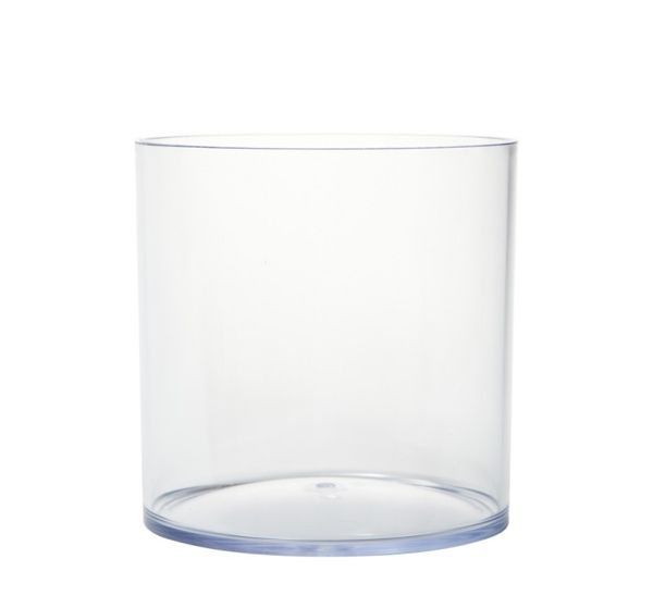 Acrylic Cylinder Vase, 15cm