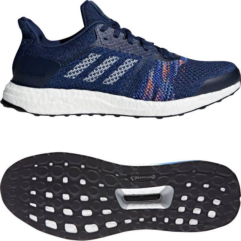 6a6b7c0fdc54f ... Adidas Adidas Mens UltraBOOST ST (Nobind White Navy) ...