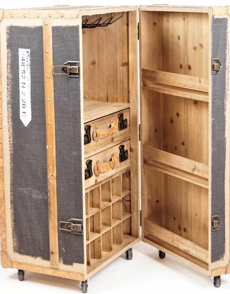 Hoff Interieur Schrankbar Koffer