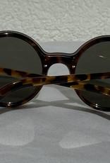 Retro Punk Sonnenbrille braun