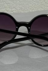 Retro Punk Sonnennbrille schwarz