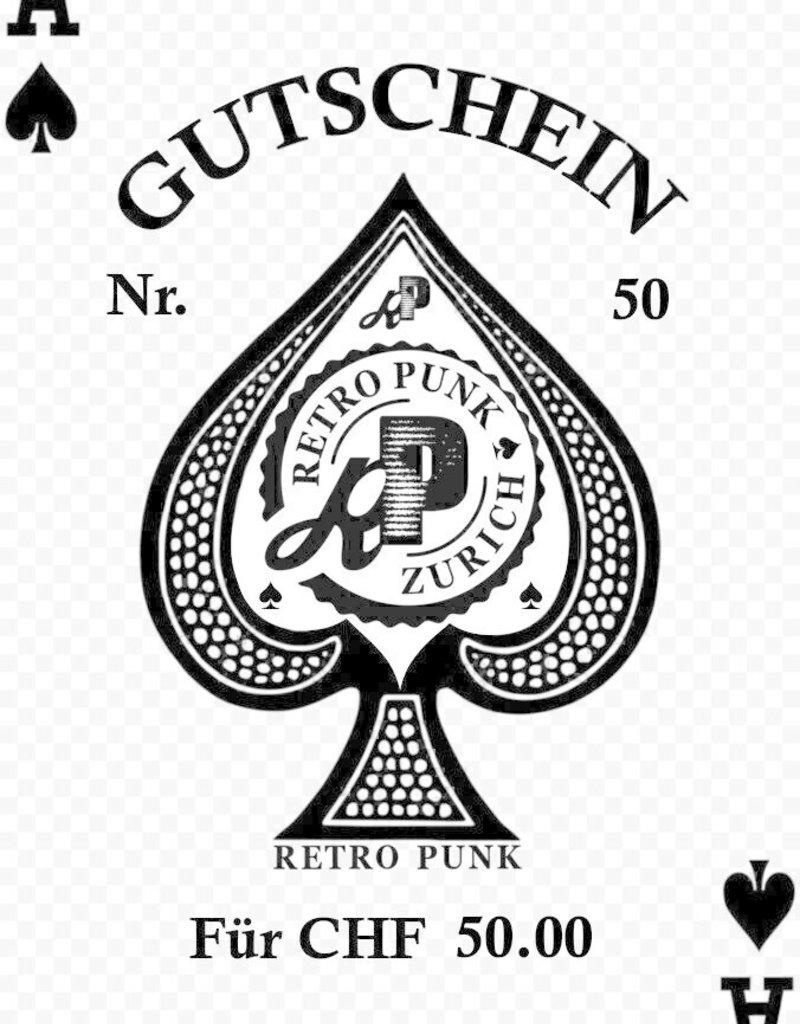 Retro Punk Gutschein
