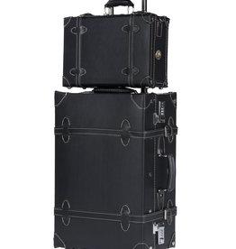 Retro Punk Set Meridian mit Rollkoffer 65cm und Big Messenger