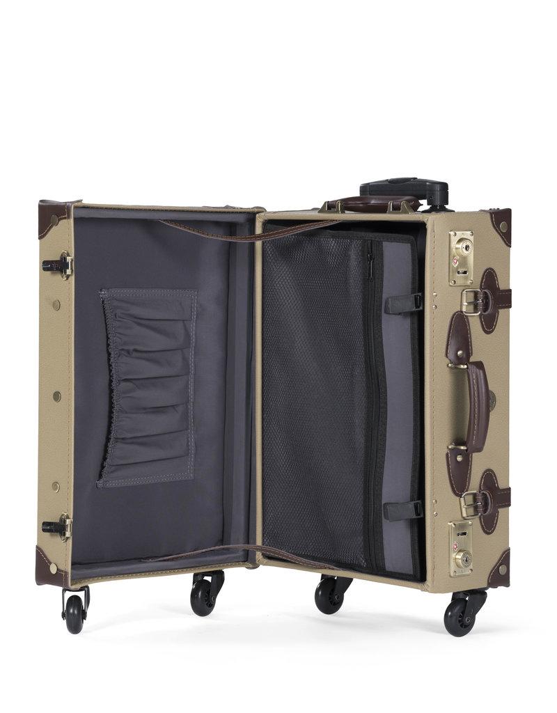 Retro Punk Safari Rollkoffer 55cm Cabin Size