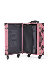 Retro Punk Pink Rollkoffer 55cm Cabin Size