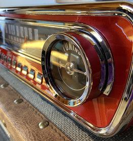 Retro Punk Mustang LP Player Radio