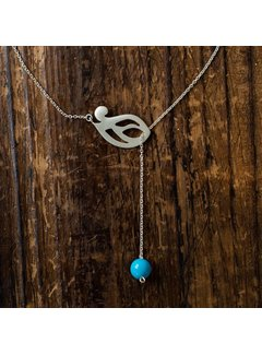 Nooré Ketting Simin Turquoise