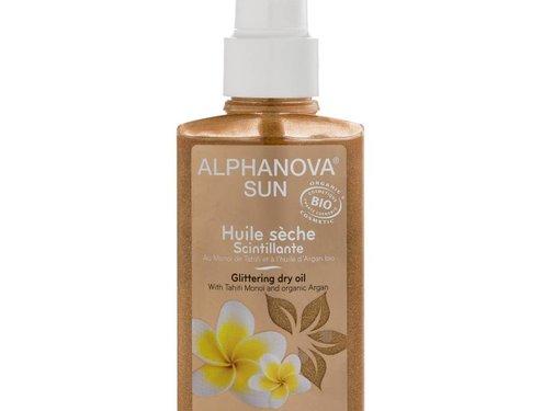 Alpha Nova Alphanova Sun Bio Glittering Dry Oil Spray 125ml