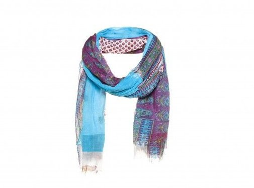 AMOR Collections We Recycle patchwork shawl