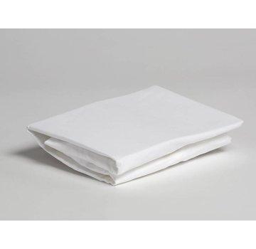 Yumeko Yumeko hoeslaken katoensatijn pure white