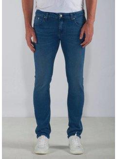 Mud Jeans Mud Jeans Slim Lassen - Pure Blue