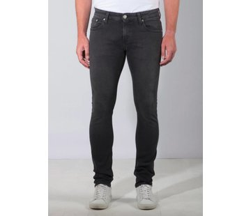Mud Jeans Mud Jeans Slim Lassen - Stone Black