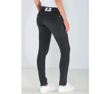 Mud Jeans Mud Jeans Skinny Lilly - Stone Black