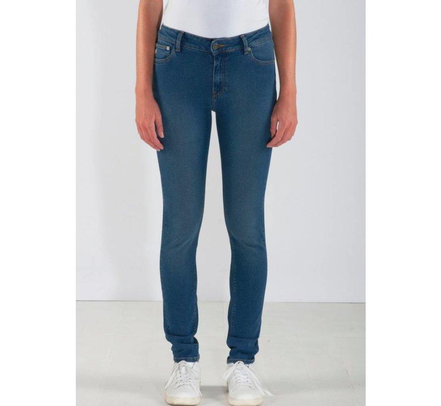 Mud Jeans Skinny Hazen - Pure Blue