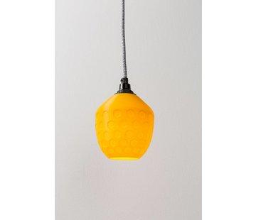 3D lights 3D lights Honeycomb hanglamp geel