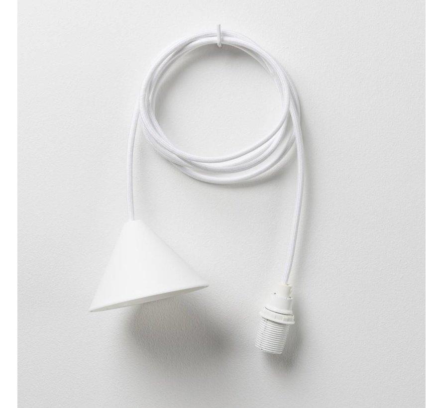 3D Lights Flake hanglamp wit