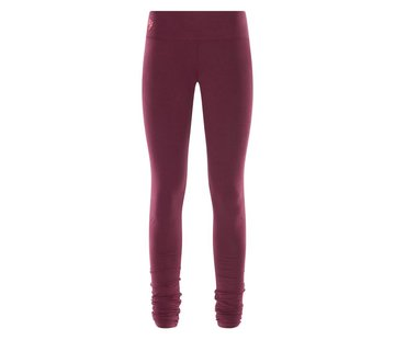 Urban Goddess Bhaktified leggings Deep Cherry