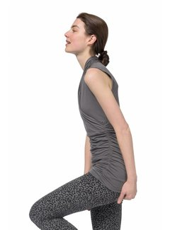 Urban Goddess Yoga Top Good Karma Volcanic Glass