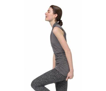 Urban Goddess Yoga Top Good Karma Volcanic Glass