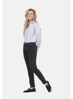Mud Jeans Mud Jeans Stretch Mimi - Stone Black
