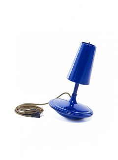 LABEL/BREED DEMAKERSVAN Metal Cast Lamp High blauw
