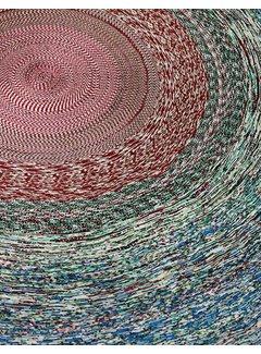 LABEL/BREED SIMONE POST & VLISCO Tapijt met diameter van 150 cm