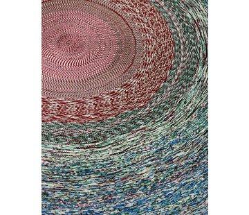 LABEL/BREED SIMONE POST Tapijt met diameter 200 cm