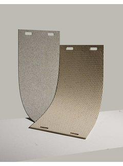 LABEL/BREED CHRISTIEN MEINDERTSMA Wool & Bio-Based Plastic Carpet, wol grijs rooster