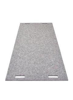 LABEL/BREED CHRISTIEN MEINDERTSMA Wool & Bio-Based Plastic Carpet wol grijs gelijnd