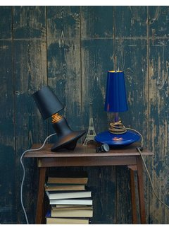 LABEL/BREED DEMAKERSVAN Metal Cast Lamp Low blauw