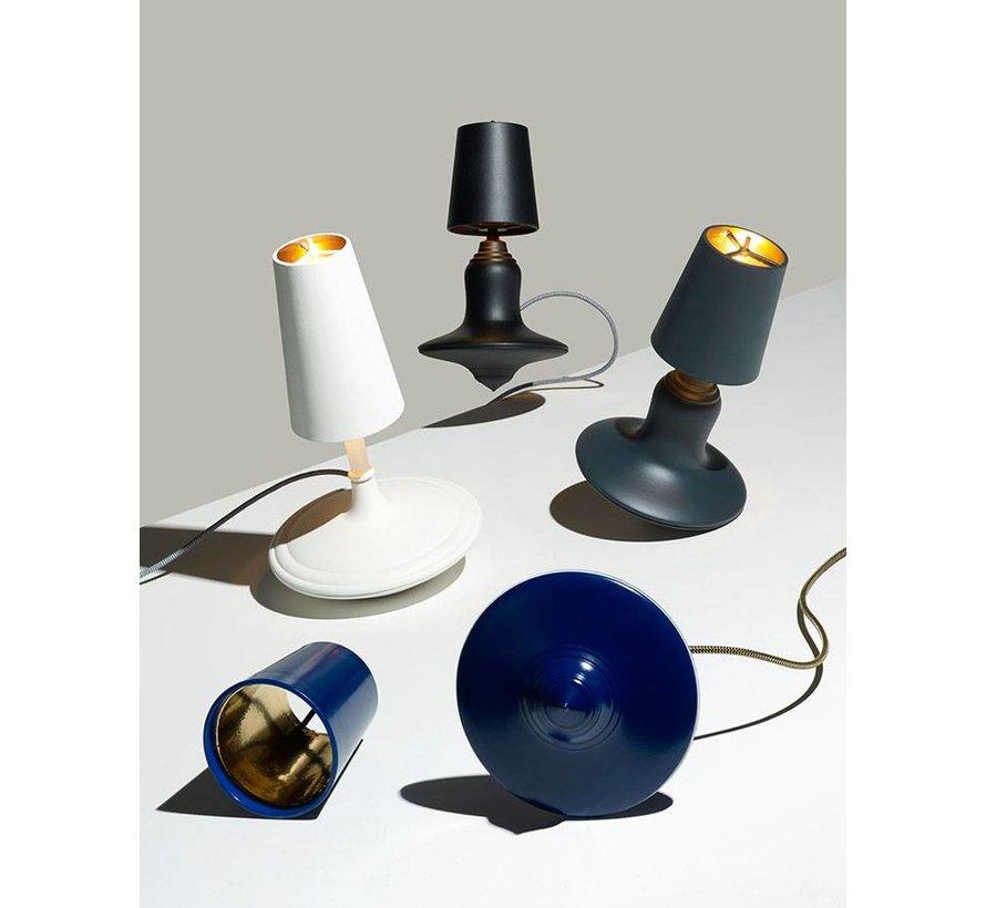LABEL/BREED Metal Cast Lamp High by DEMAKERSVAN & Lovink mat zwart