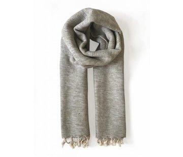 Studio Jux Handwoven scarf - sand melange
