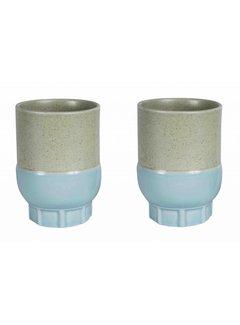 Return to Sender Return to Sender Two colour cups light blue (2pc)