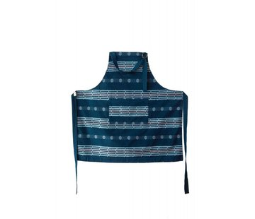 Return to Sender Return to Sender Bindi  apron - blue