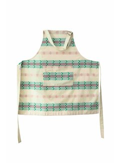 Return to Sender Return to Sender Bindi  apron - white