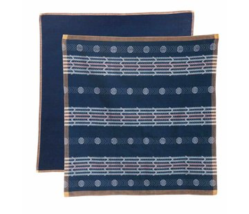 Return to Sender Return to Sender set Bindi tea towels - blue