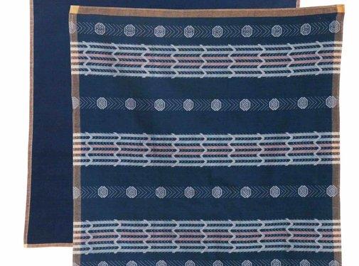 Return to Sender Return to Sender set Bindi tea towels - blue