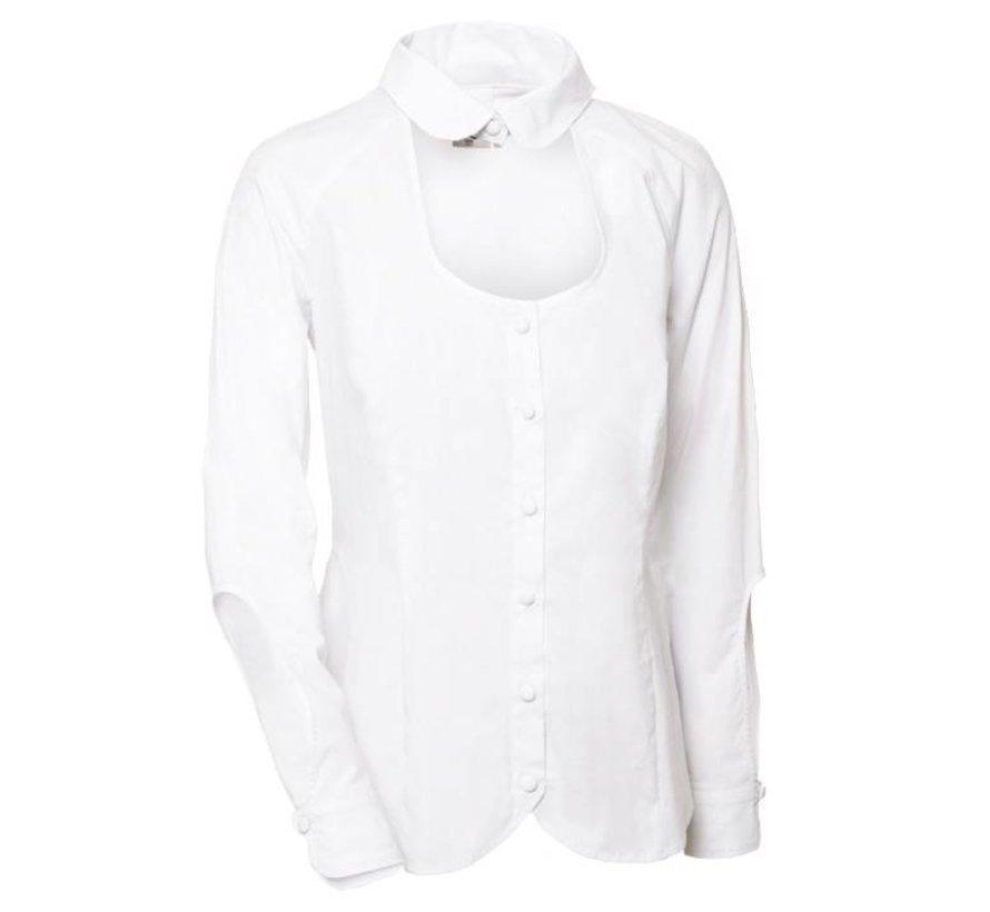 'Van Jos' witte open blouse