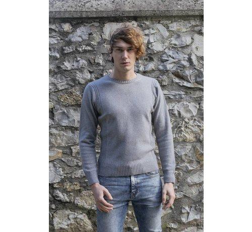 Rifo Rifo Recycled Cashmere Sweater Roberto blauw