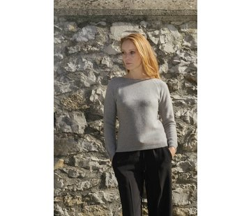 Rifo Rifo Recycled Cashmere Sweater Giulietta Grijs