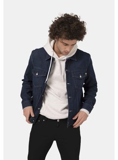 Mud Jeans Mud Jeans Tyler Unisex Denim Jacket - Strong Blue