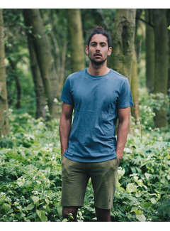 The Driftwood Tales T-shirt - Organic Jersey - Blue