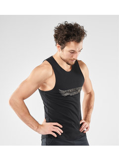 Renegade Guru Yoga Tank shirt Moksha -  Urban Black
