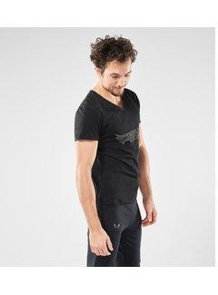 Renegade Guru Yoga T-shirt Moksha -  Urban Black