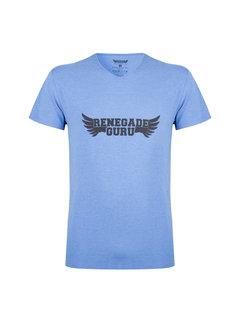 Renegade Guru Yoga T-shirt  Moksha -  Blue Space